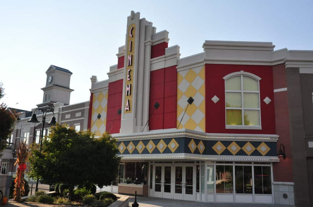 Watch a movie at Forge Cinema